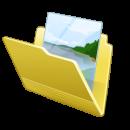 Windows 7 Folder Background icone