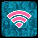 Senha WiFi grátis Instabridge icone