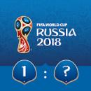 Previsão dos jogos da Copa do Mundo da FIFA 2018 pela Hyundai icone