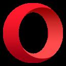 Navegador Opera com VPN gratuita icone
